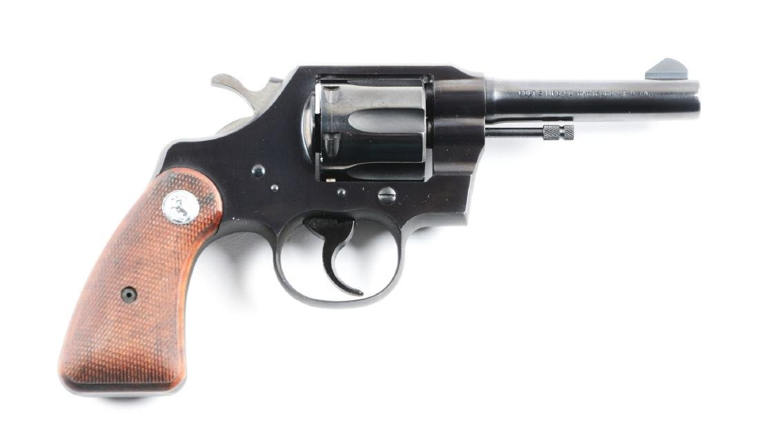 (C) Boxed Lockheed Martin Marked Colt Marshal Double