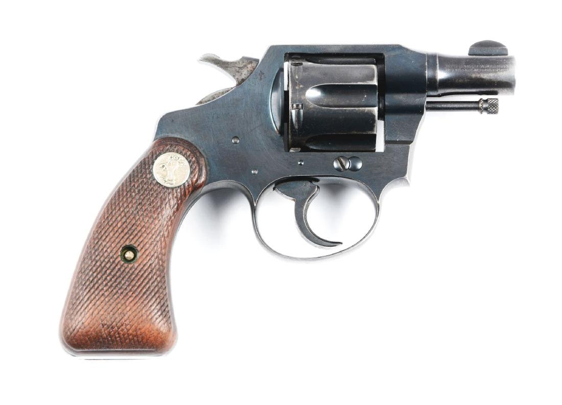 (C) Pre-War Colt Bankers Special Double Action