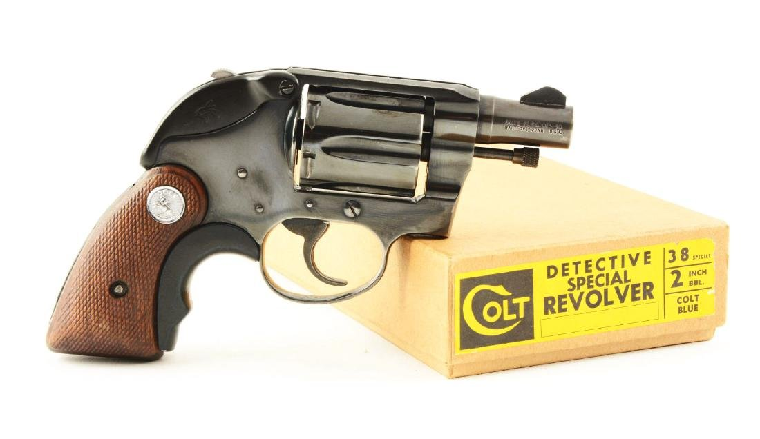 (M) Colt Detective Special Double Action Revolver.