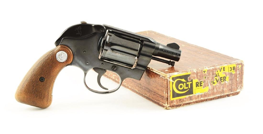 (C) Boxed Colt Detective Special Double Action