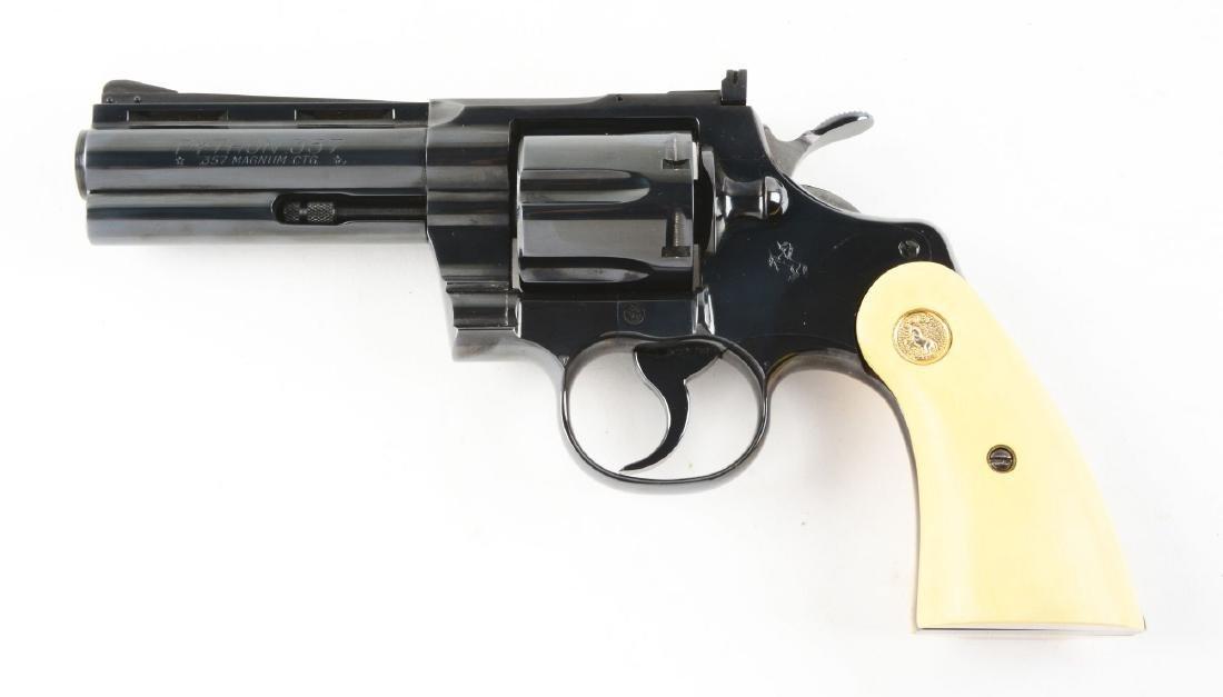 (C) Boxed Colt Python Double Action Revolver (1967). - 4