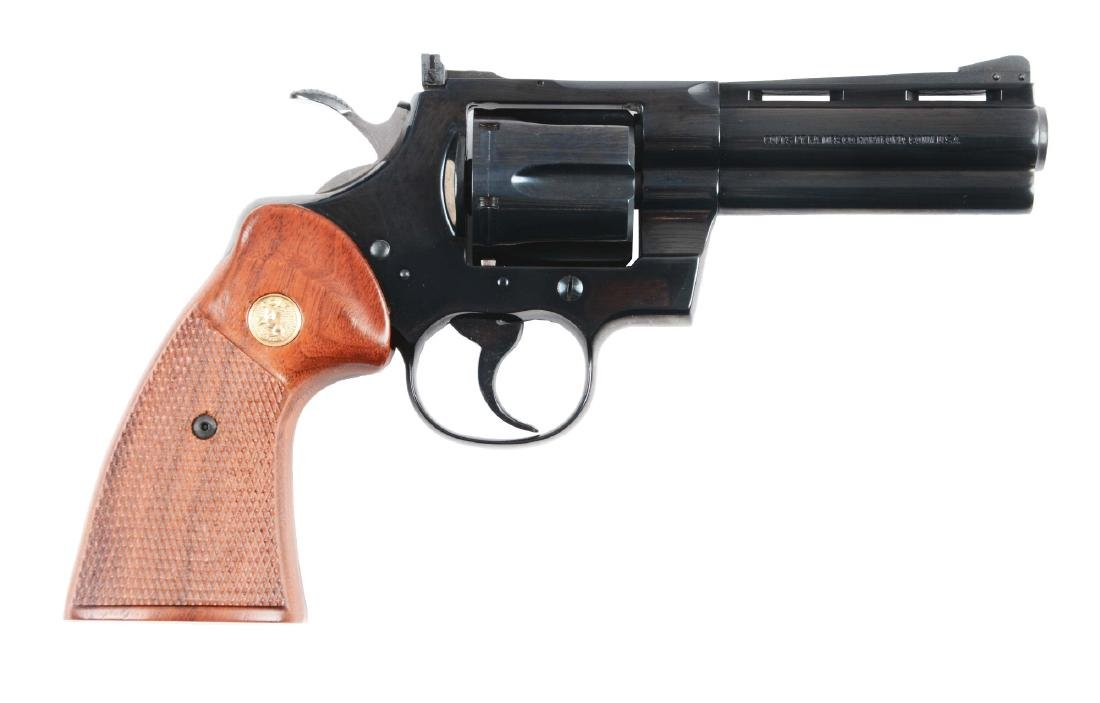 "(M) MIB Colt Python 4"" Double Action Revolver."
