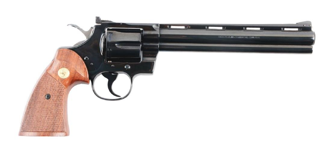"(M) MIB Colt Python 8"" Double Action Revolver."