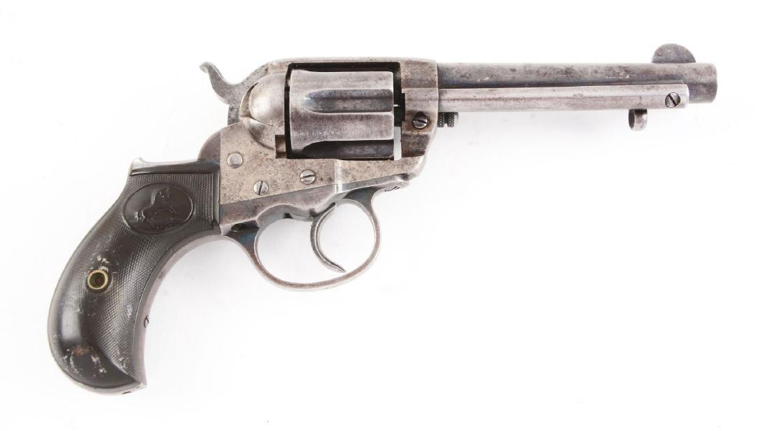 "(A) Colt Model 1877 ""Thunderer"" Double Action Revolver. - 2"
