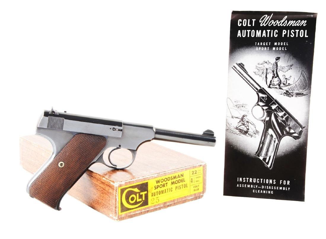 (C) Pre/Post-War Colt Woodsman Sport Semi-Automatic