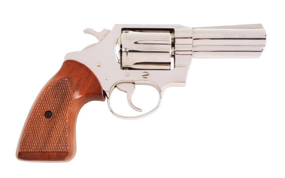 "(M) Rare MIB Colt Detective Special 3"" Nickel Revolver."
