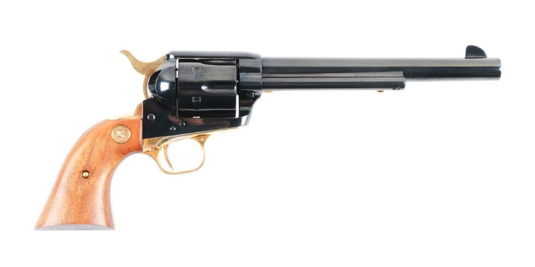 (C) 125th Anniversary Colt Single Action Army Pistol.