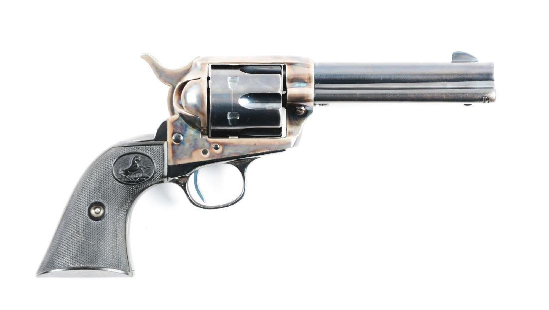 (C) Pre-War .45 Colt Single Action Army Revolver