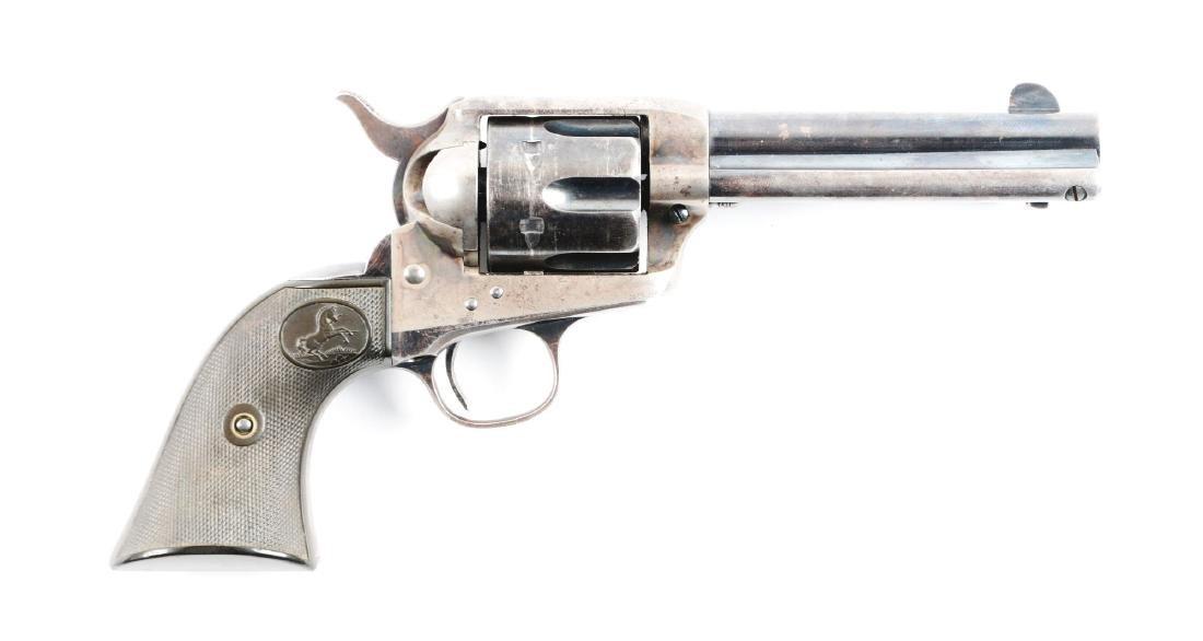 (C) Pre War .41 Colt Single Action Army Revolver
