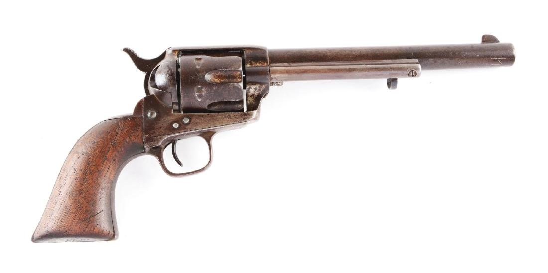 (A) Early Black Powder Colt Single Action Army