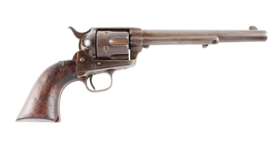 (A) Colt Single Action Army Revolver.