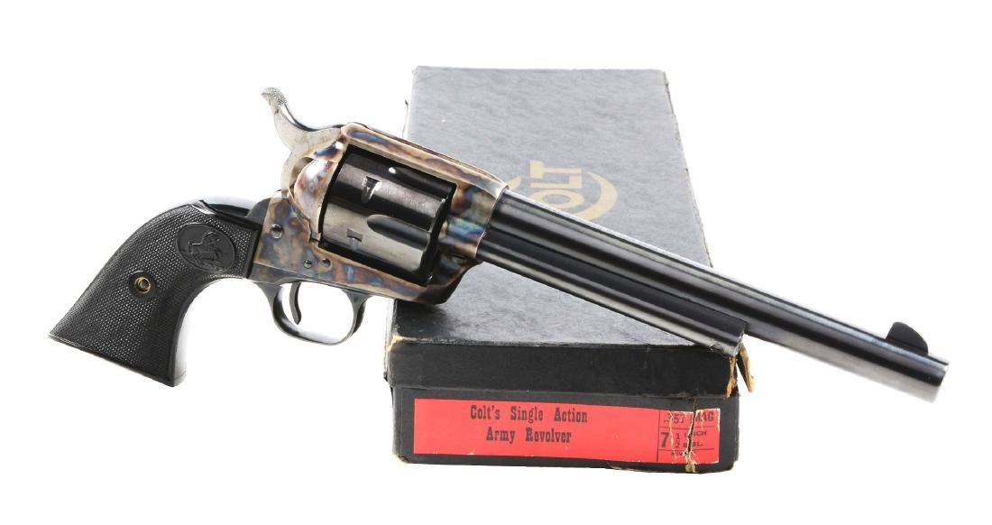 (C) Colt Single Action Army .357 Magnum with Black Box.