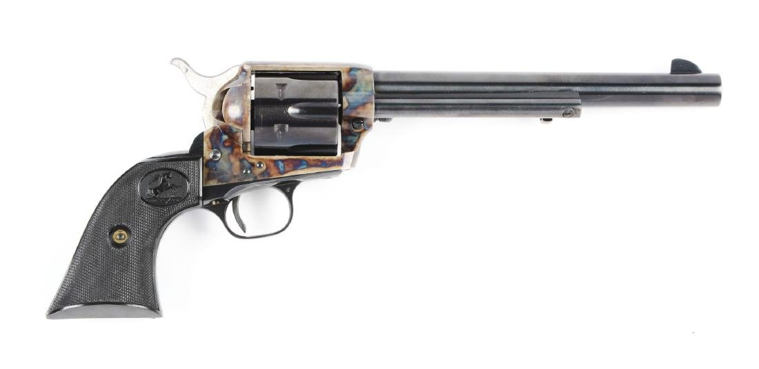 (C) Colt Single Action Army .357 Magnum with Black Box. - 2