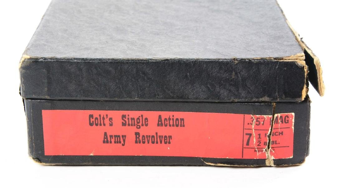 (C) Colt Single Action Army .357 Magnum with Black Box. - 7