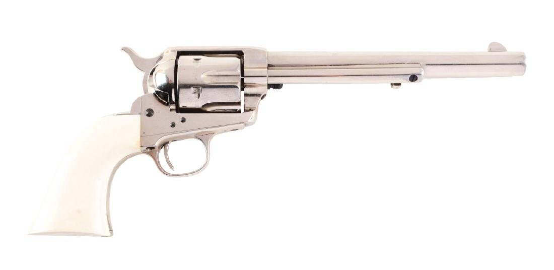 (A) 1st Generation Colt Single Action Army Nickel