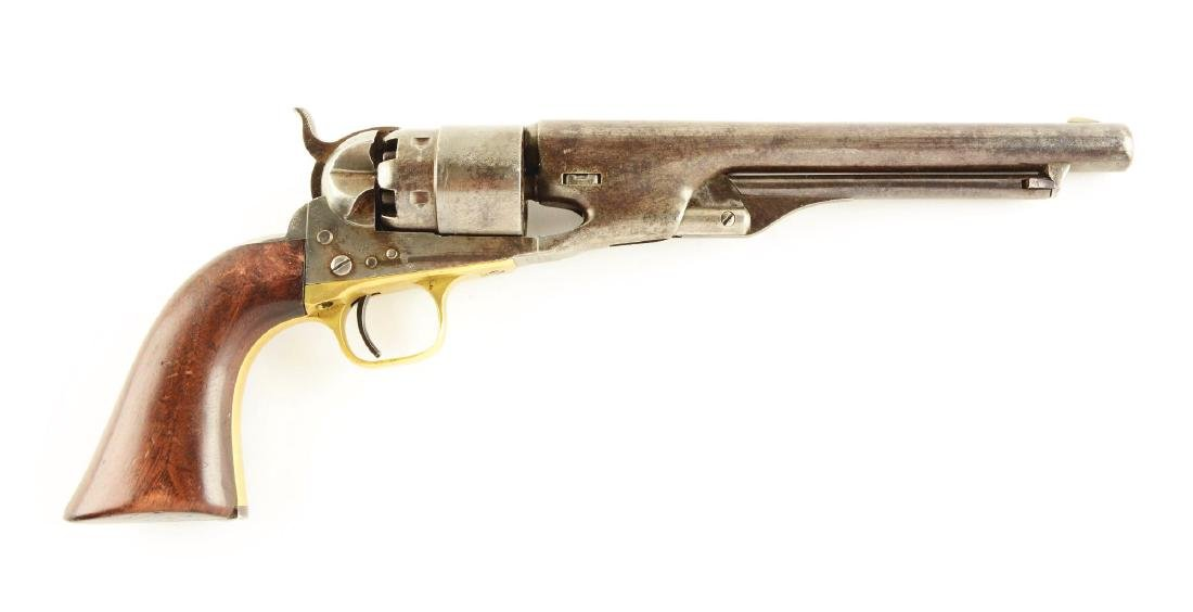 (A) Colt Model 1860 U.S. Army Percussion Revolver.