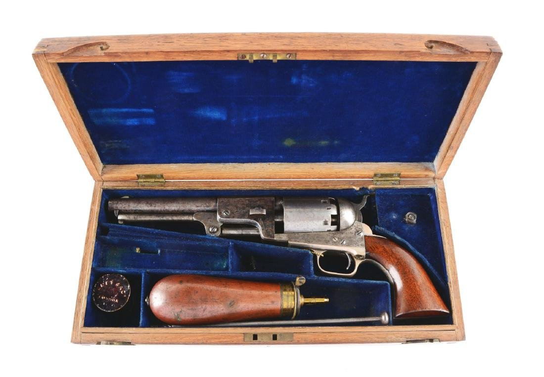 (A) Presentation & Cased London Colt 3rd Model Dragoon