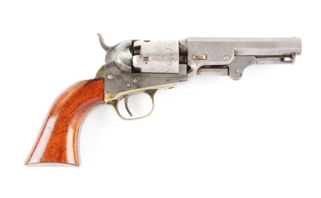 (A) Colt Model 1849 Pocket Revolver.
