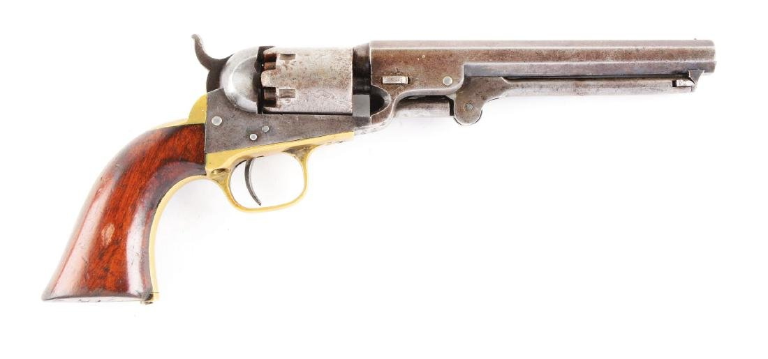 (A) Colt Model 1849 Percussion Pocket Revolver.