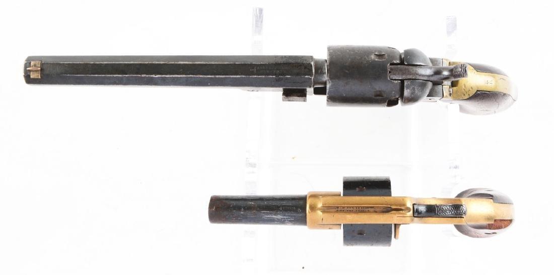 (A) Lot of 2: Antique Colt Revolvers. - 3