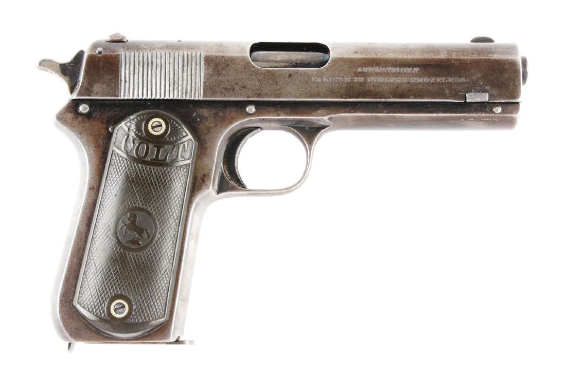 (C) Colt Model 1903 Pocket Hammer Semi-Automatic
