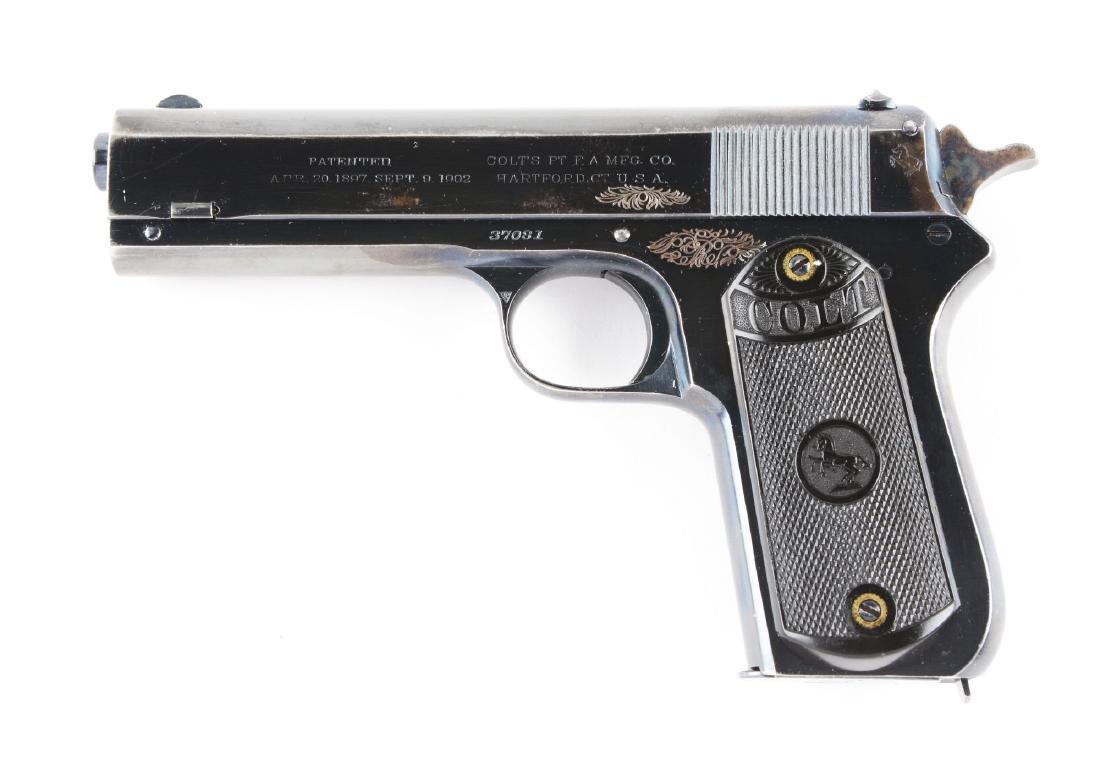 (C) Colt Model 1903 Pocket Hammer Semi-Automatic - 2