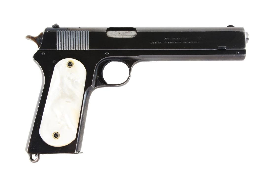 (C) Colt Model 1902 Military Semi-Automatic Pistol with