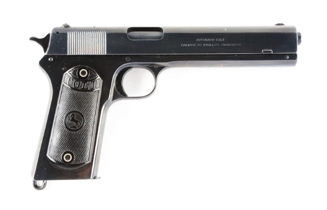 (C) Colt Model 1902 Semi-Automatic Pistol.