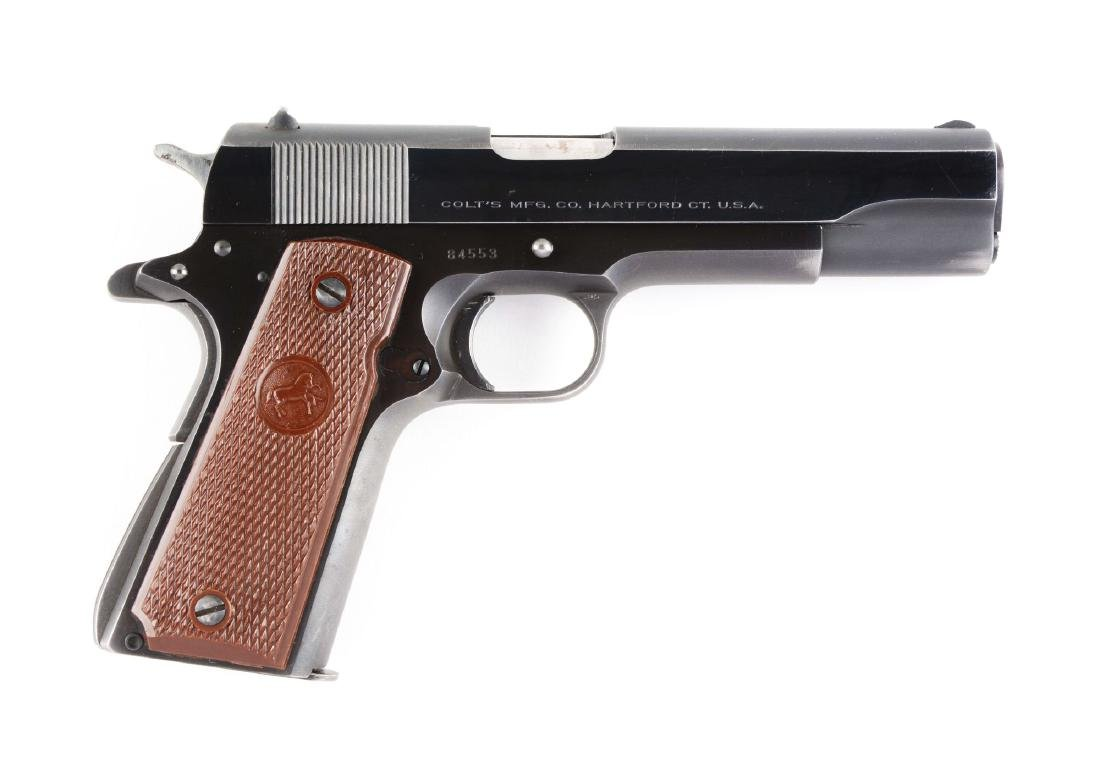 (C) High Condition Colt Super .38 Fat Barrel