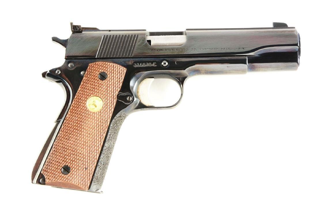 (C) Colt Model 1911-A1 National Match Mk III Mid-Range