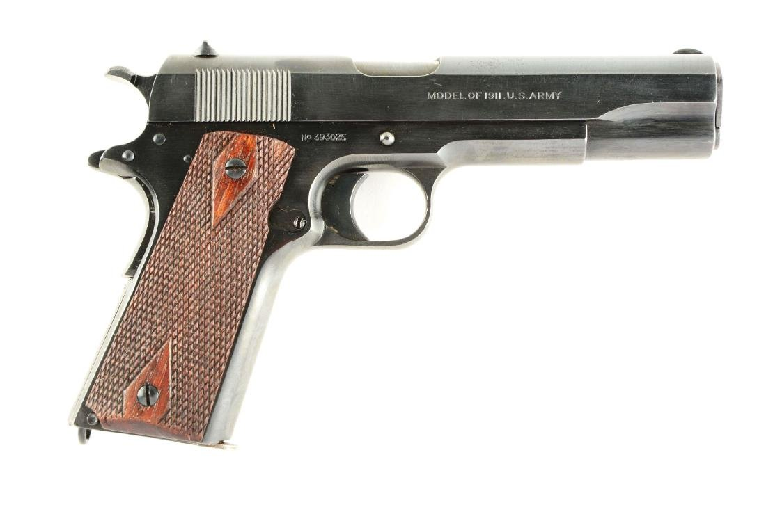(C) Springfield U.S. Army Model 1911 Semi-Automatic