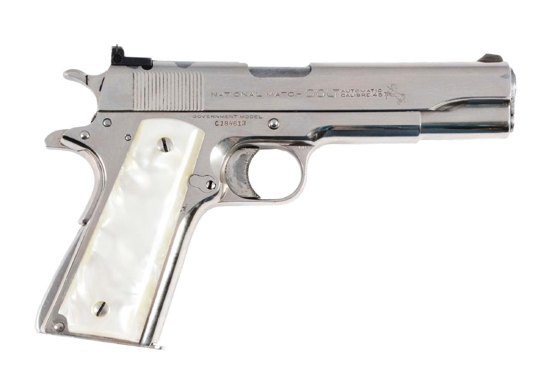"(C) Pre-War ""Full King"" Colt National Match"