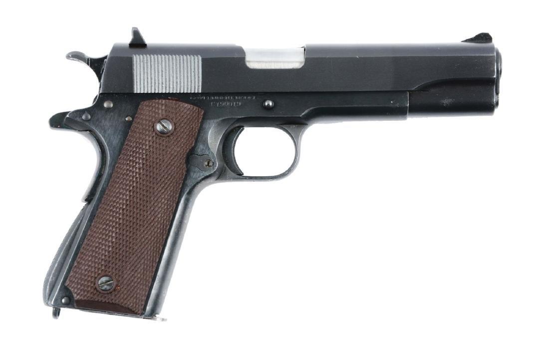 (C) Pre-War Colt 1911-A1 Commercial Semi-Automatic