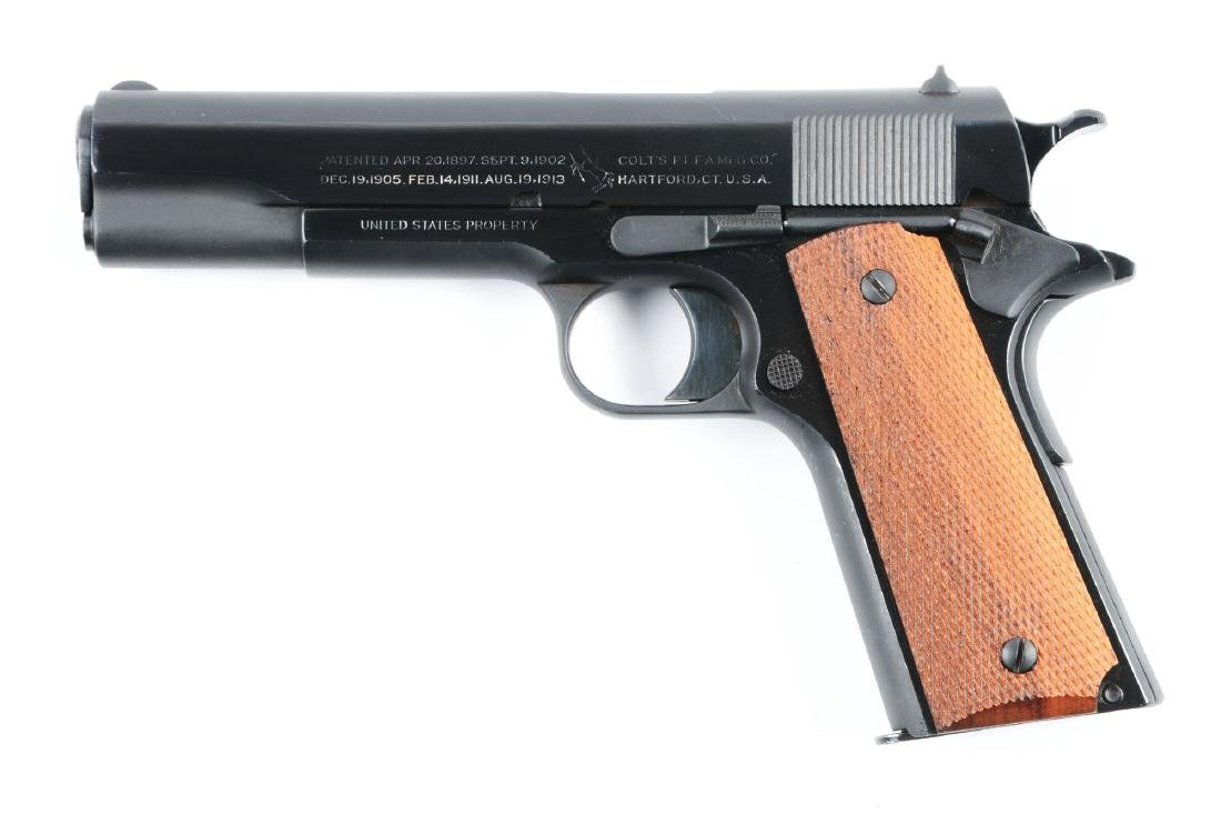 (C) U.S. Property Colt 1911 Semi-Automatic Pistol. - 2