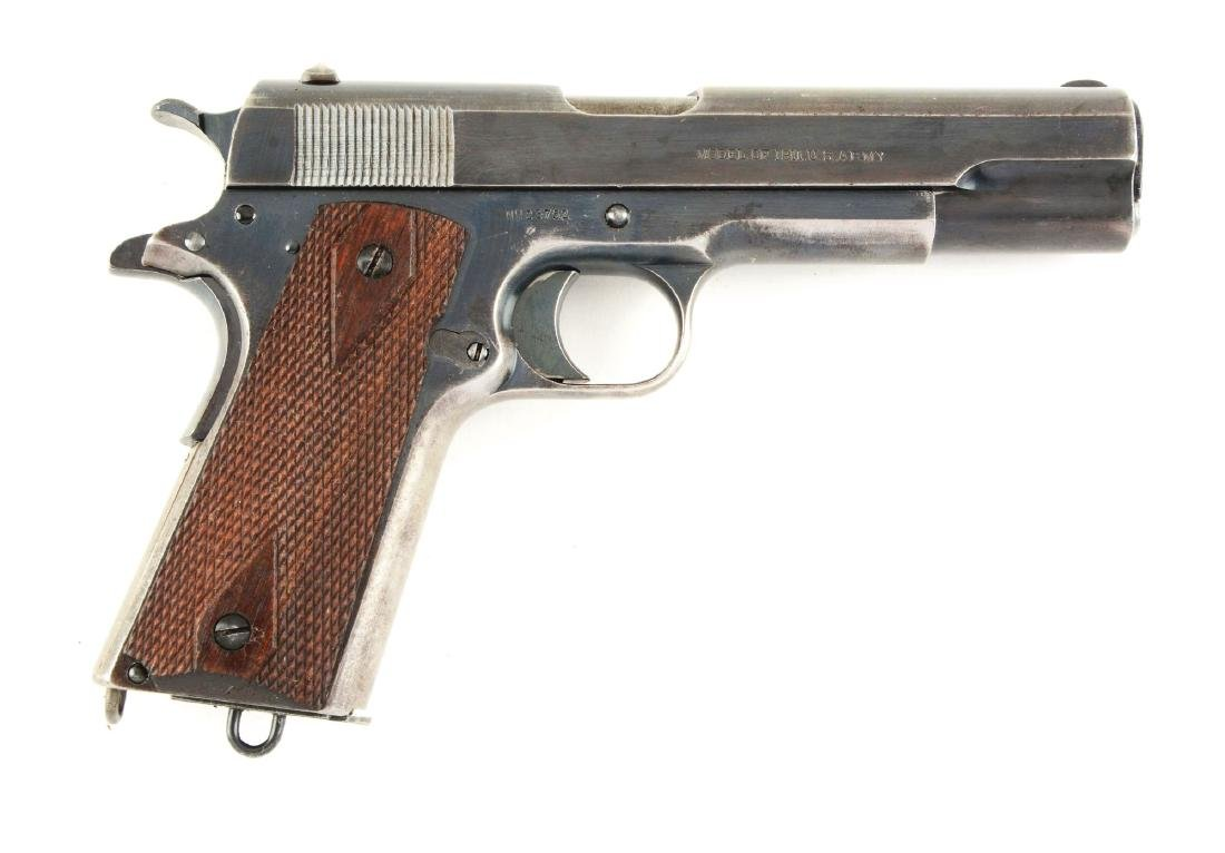 (C) Colt U.S. Army Model 1911 Semi-Automatic Pistol