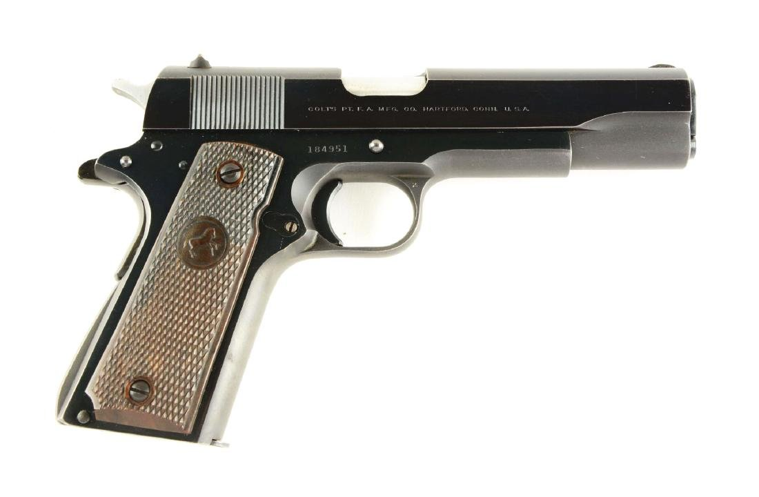 (C) Colt Model 1911 Pre-Series 70 .38 Super