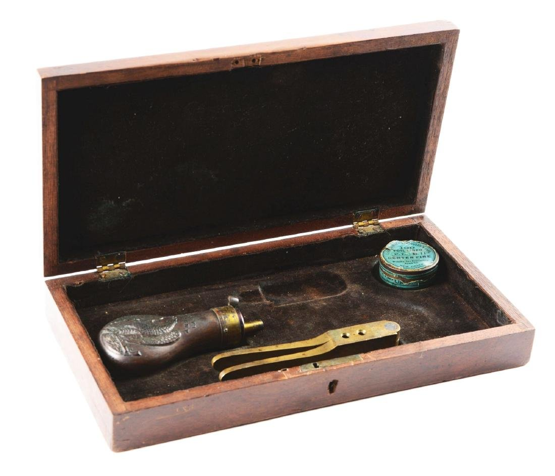 Rare Original Colt Walnut Display Box for 1848 Baby