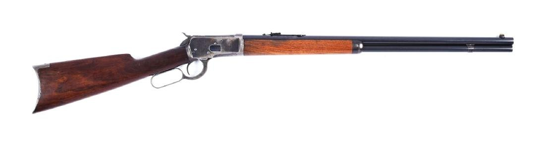 (C) Winchester Model 1892 .44 Lever Action Rifle.