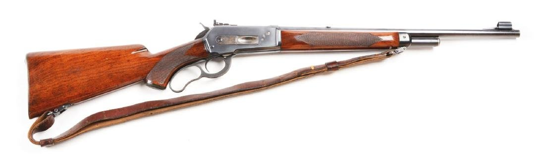 (C) Winchester Model 71 Deluxe Long Tang Lever Action