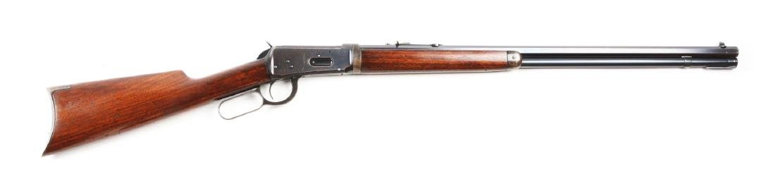 (C) Winchester Model 1894 Takedown Lever Action Rifle.