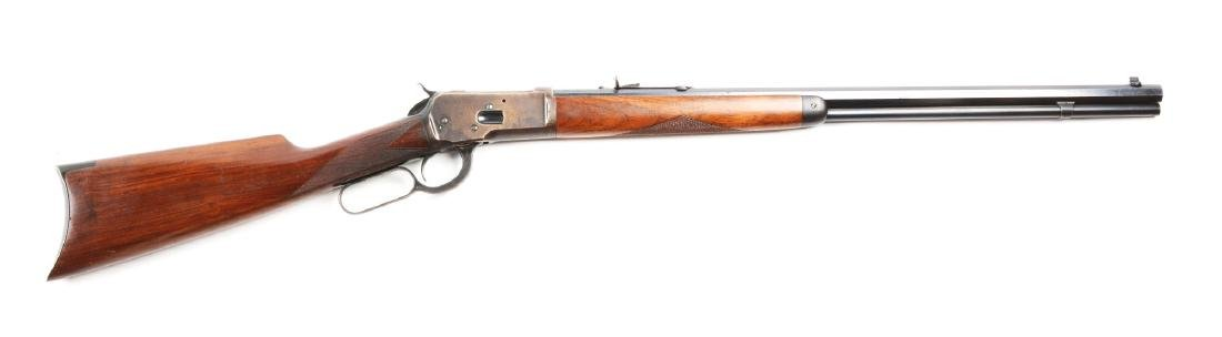 (C) Winchester Semi-Deluxe Model 1892 Lever Action