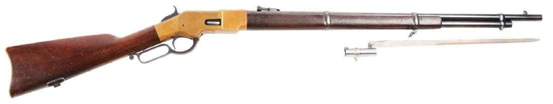 (A) Winchester Model 1866 Lever Action Musket with