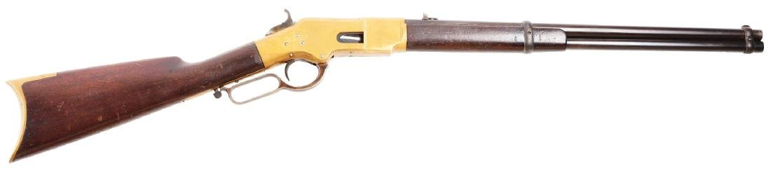 (A) Fine Winchester Model 1866 Saddle Ring Carbine.