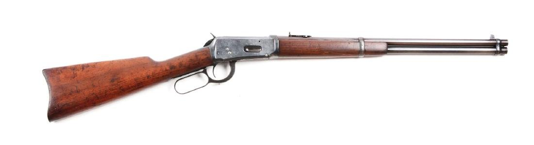 (C) Winchester Model 1894 Saddle Ring Carbine (1912).