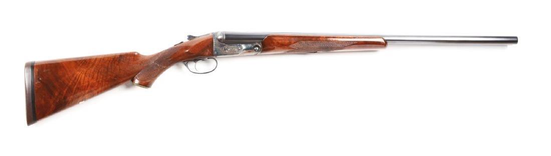 (C) Parker Bros. GHE Grade Double Barrel Shotgun.