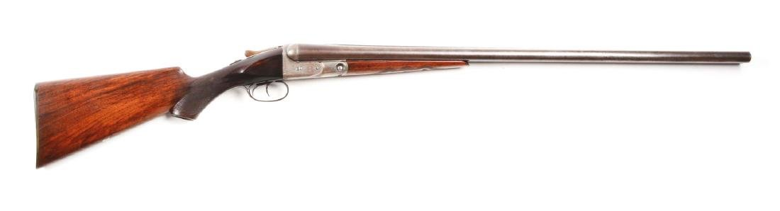 (C) Parker Brother Grade G Hammerless Boxlock Shotgun.