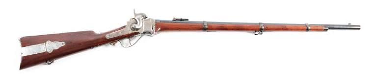 A Sharps New Model 1863 Military 3Band Rifle