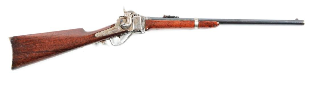 (A) Late Sharps Model 1859 Saddle Ring Carbine