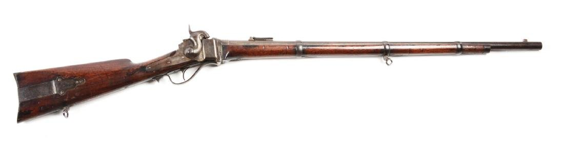 (A) Sharps New Model 1863 Percussion Rifle.