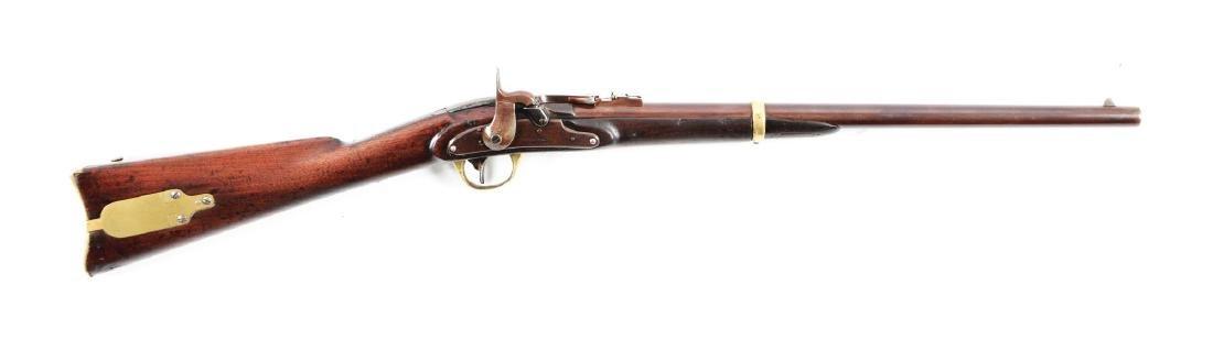 (A) J.H. Merrill Breachloading Civil War Carbine.